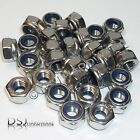 Marine grade Qty:30 - A4 Stainless Nylon Insert Nuts m3 m4 m5 m6 m8 Available