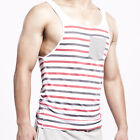 SEOBEAN Mens Vest Slim Fit Sexy Stylish Tops Sleeveless Shirt Tee T-shirts XB053