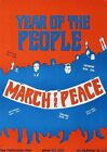 Year Of the People March for Peace - Vintage Art Print Poster - A1 A2 A3 A4 A5