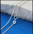 "925 STERLING SILVER CURB THIN CHAIN 16"", 18"", 20""  0.7MM x 1.1 MM LINK SIZE"