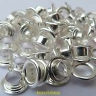 50 or 100 x Silver Plated Plain Faced Dual Core Inserts For European Glass Beads