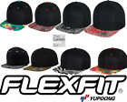 Flexfit by YUPOONG Fashion Print Baseball Cap Hat Snapback Flatcap YP003
