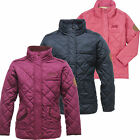 Regatta Giddyup Girls Quilted Jacket Children's School Coat RKN006