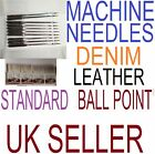 10x sewing machine needles leather,Denim/jeans,Standard,Ball point