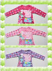 BNWT Peppa Pig Girls Long Sleeve T-shirt Tee Size 2,3,4,5,6