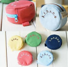 Candy Color City Zipper Round Coin Card Purse Key Wallet Buggy Bag Pouch HA402MS