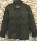 Black Flecktarn German Army Shirt - Dyed - German Genuine Army Surplus