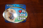 I Love My Dog Oval Magnet  *You Choose Your Breed* C-F