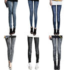 New Sexy Womens Leggings/Jeggings Womens Fashion tattoo jeans look Skinny