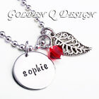 Personalised Stainless Steel Name Necklace Birthday Christmas Gift D105