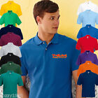 Personalised Fruit Of The Loom 63402 Embroidered Polo Shirts, Workwear,Full Logo