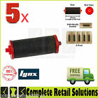 5x NEW OFFICIAL LYNX C INK ROLLERS FOR PRICING GUN AND PRICE LABELLER PACK OF 5