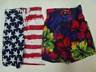 NEW JOE BOXER BOYS SWIMTRUNKS TROPICAL or PATRIOTIC SIZE 6/7 or 10/12