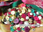 VINTAGE ROMANCE MIXED BUTTONS 75 GRAMS BEAUTIFUL PEARL, METALLIC & COLOURED