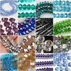 New Multi-Color Swarovski Crystal Gemstone Loose Beads 4x6mm 6x8mm