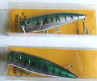 For Real Mackerel Bass Popper - Sea Fishing - Blue or Green