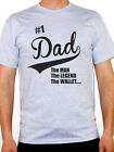 NUMBER 1 DAD - Father's Day / Birthday Gift / Novelty / Fun Themed Men's T-Shirt