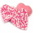 PINK STRAWBERRY CHOCOLATE HEARTS RETRO WEDDING PARTY SWEETS CANDY CHOOSE AMOUNT