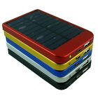 2600mAh External Solar Power Bank Battery Charger for iPhone 5/4 Galaxy S4 i9500