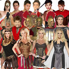 Adult Mens Ladies Roman Greek Warrior Centurion Gladiator Fancy Dress Costume