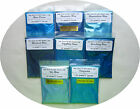 Cosmetic Grade Mica Powders-29 g = 1 oz Bags-Shades of Blue-8 Choices