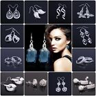 Free P&P Wholesale Solid Silver Jewelry 2013 Xmas gift Ladies 925Silver Earrings