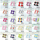 47Style 4PCS Toddler Baby Girls Kids Hair Clips Ribbon Alligator Clips Bow Clips