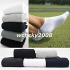 "Comfortable Mens Sport Ankle Socks ""No Show"" Cotton Socks Low Cut Casual Socks"