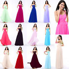 New Chiffon Long Sweetheart One Shoulder Formal Prom Dresses Evening Party Gown
