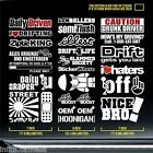 26+ jdm euro drift racing turbo sticker decal hellaflush blow stance funny EB203
