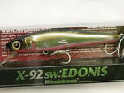 Megabsss Japan Jerkbait Minnow X-92 SW Edonis (Various Colors) New