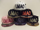 BRAND NEW VINTAGE LMAO AZTEC SNAPBACK BASEBALL CAP WITH TAGS AND STICKERS