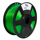 WYZworks 3D Printer Filament 1.75/3mm ABS PLA SOFT WOOD PETG FLEXIBLE 1kg/2.2lb <br/> ABS / PLA / TPU / PETG / FLEX Filaments in many colors