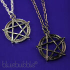 FUNKY METAL PENTAGRAM STAR NECKLACE WICCA PAGAN GOTH STYLE PENDANT PUNK ROCK EMO