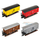 New G Scale Garden Freight Carriage Cargo Wagon Compatible 45MM Track