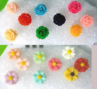 Anti-dust Ear Phone Earphone Flower Cap Plug For Samsung iphone 4 4s 5 5s 5c s3