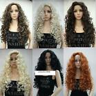 """color select New fashion sexy full wig 28"""" long curly synthetic hair women' wigs"""