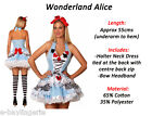 Alice in Wonderland Costume CHRISTMAS Halloween Eyelid Temporary Tattoo Socks