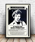 An Evening with Bruce Springsteen : Concert Advertising  Poster reproduction