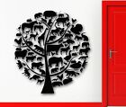 Wall Sticker Vinyl Decal Tree Animal Nature for Kids Baby Room Nursery (ig1960)