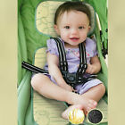 Baby Seat Pad / Liner for Stroller Pram - Flax and Bamboo charcoal Car Seat Mat