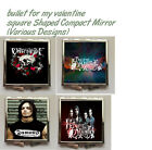 Bullet For My Valentine Square Shaped Compact Mirror (Various Designs)