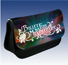 Personalised Bullet For My Valentine Pencil Case/Make Up Bag (various Designs)