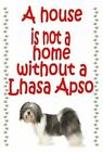 Lhasa Apso Keyring - novelty chunky dog keyrings - free UK pp