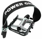 Power Grips, Pedal Toe Straps For / Single Speed Bikes / MTB etc