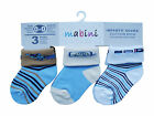 Pack of 6 : MABINI® Baby / Infants' Cotton Rich Socks (Turn Over Top Design)