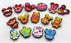 Free shipping children Disney Ice cream cake mix PVC Shoe Charms Fit Jibbitz