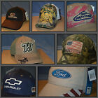USA Flag Ford Chevy Baseball Cap Hat Mossy Oak Real Tree Camo Don't Tread on Me