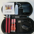Vaporizer Vape Pen 2 Pack Charger Bottle Starter Kit 1100mah Battery