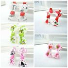 10PCS Baby girls alligator hair clips 4.5cm Satin bow hair slides HRP7